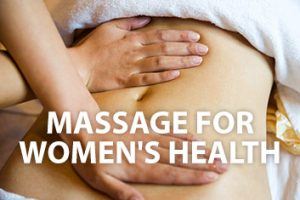Massage for Women's Health Course Bristol Bath London